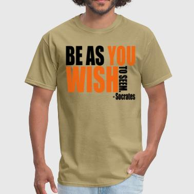 Socrates Quote - Men's T-Shirt