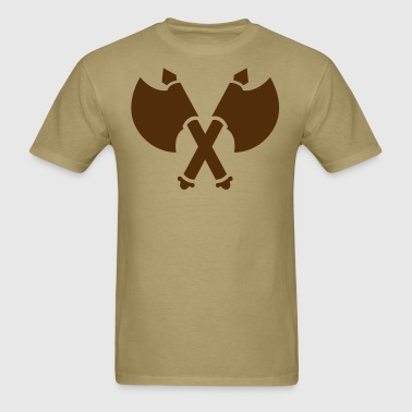 viking axes - Men's T-Shirt