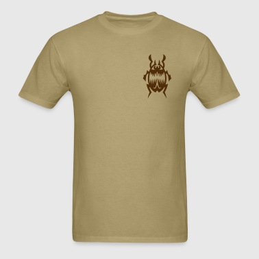 Beetle Tribal Tattoo 1 - Men's T-Shirt