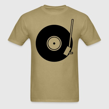 Turntable Plain - Men's T-Shirt