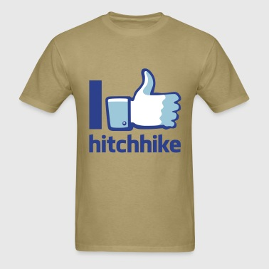 I hitchhike flex - Men's T-Shirt
