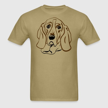 Basset - Men's T-Shirt