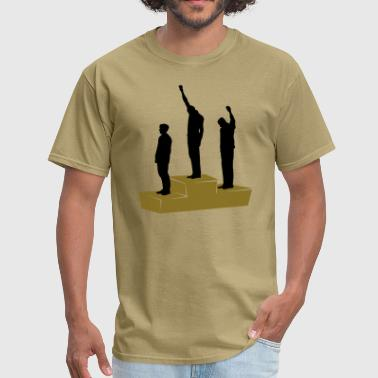 Fight The Power Black Power Mexico 1968 - Men's T-Shirt