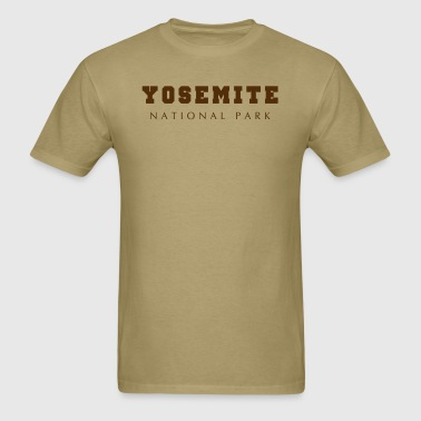 Yosemite National Park - Men's T-Shirt