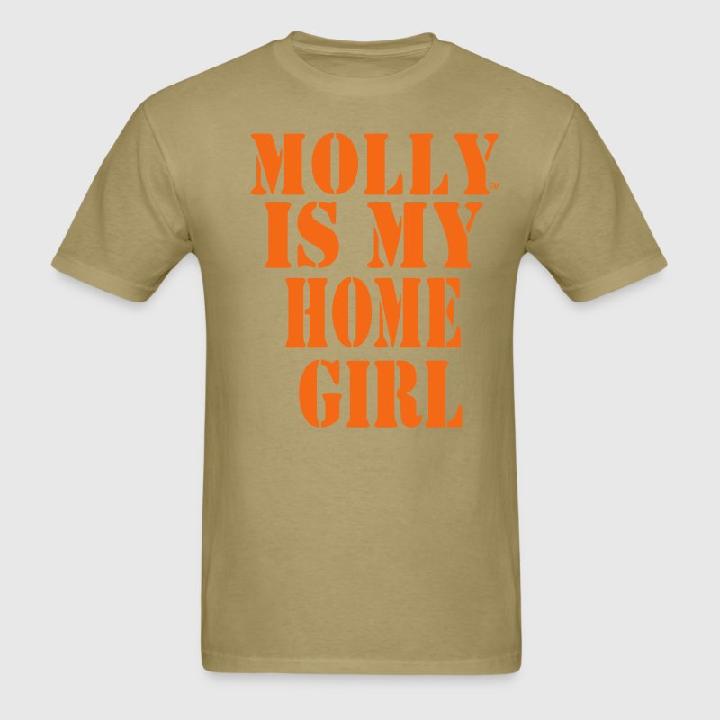 MOLLY IS MY HOME GIRL - Men's T-Shirt
