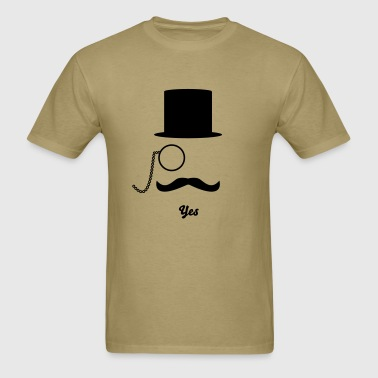 Like A Sir & Moustache - Men's T-Shirt