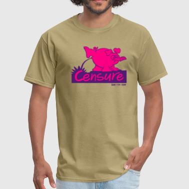 Fight Lounge Pissing Pig - Men's T-Shirt