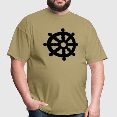 Wheel of Dharma v1 1_color - Men's T-Shirt