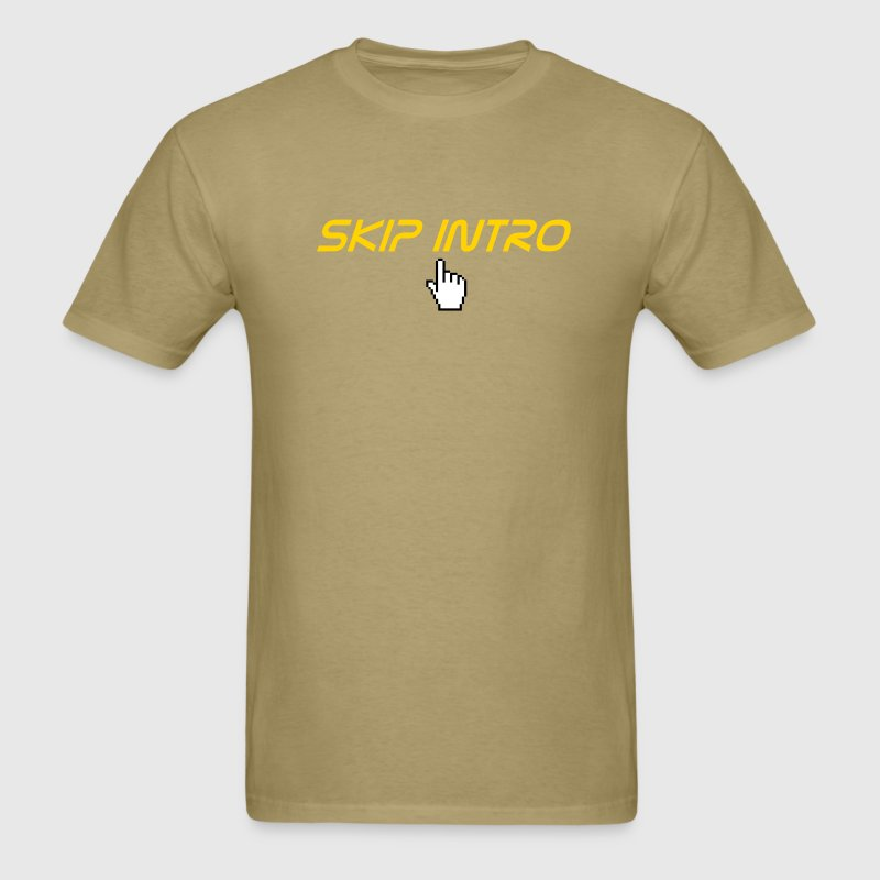 skip intro - Men's T-Shirt