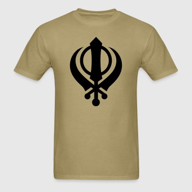 Khanda v1 1_Color - Men's T-Shirt