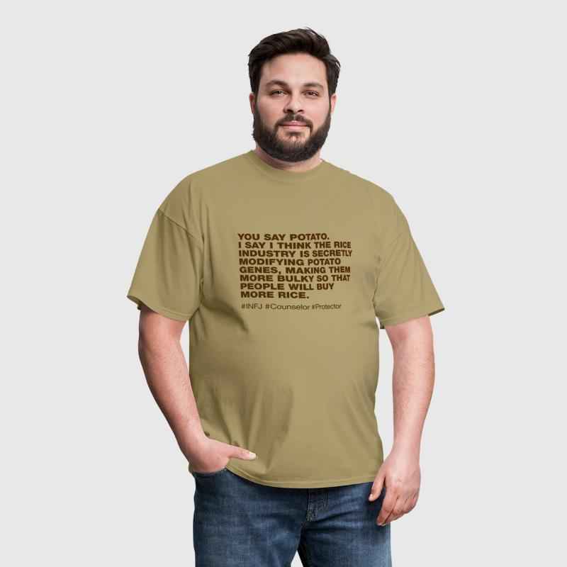 INFJ - Men's T-Shirt