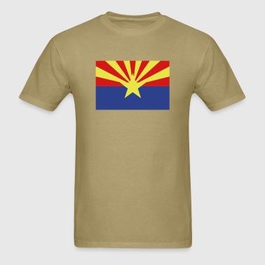 Arizona State Flag - Men's T-Shirt