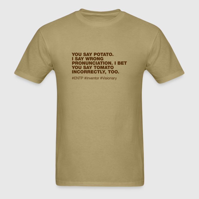 ENTP - Men's T-Shirt