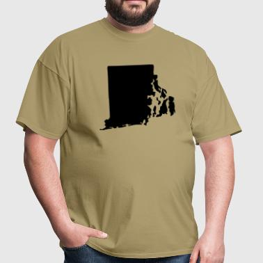 State of Rhode Island - Men's T-Shirt
