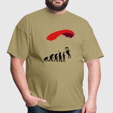 evolution_fallschirm - Men's T-Shirt