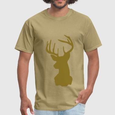Mounted Deer Deer - Men's T-Shirt