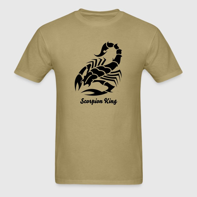 Scorpion Tribal Tattoo 7 - Men's T-Shirt