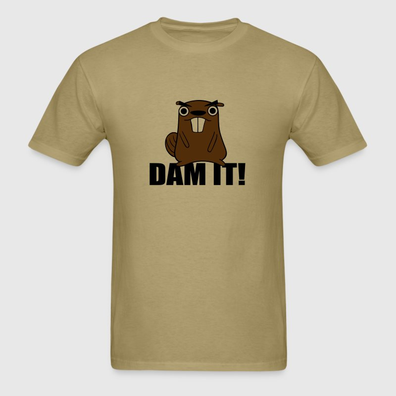 Dam It! Beaver - Men's T-Shirt
