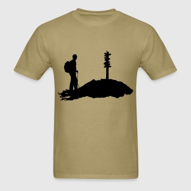Hiking, Hiker (men) - Men's T-Shirt