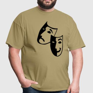 Masks - Theater - Actor - Men's T-Shirt