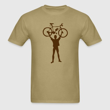 mountain bike design - Men's T-Shirt