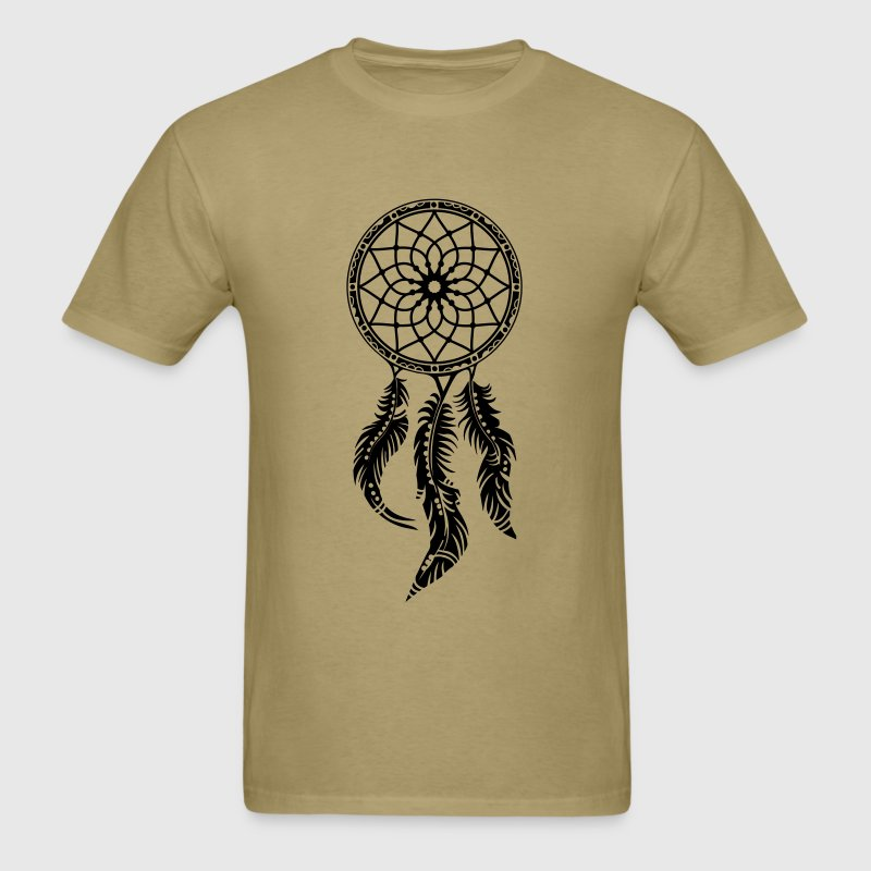 Dream catcher, Native American Indians, Feathers - Men's T-Shirt