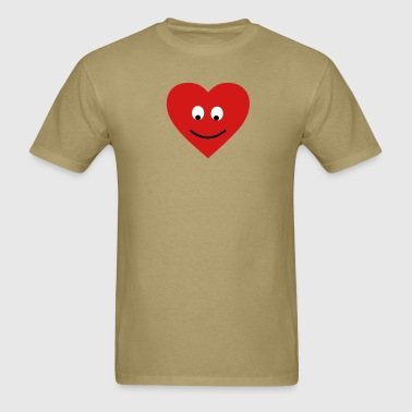 heart head - Men's T-Shirt