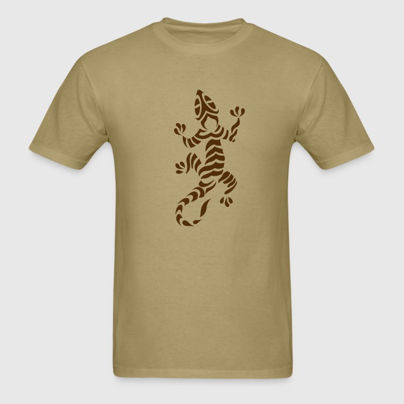 Lizard Tribal Tattoo 7 - Men's T-Shirt