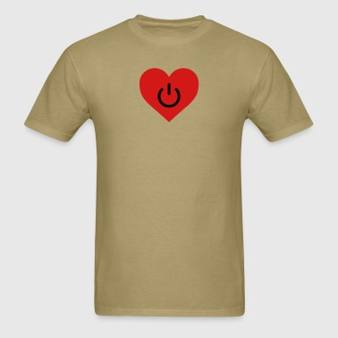 power of love v2 - Men's T-Shirt