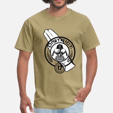 Hunger Games Hunger Games District 12 - Men's T-Shirt
