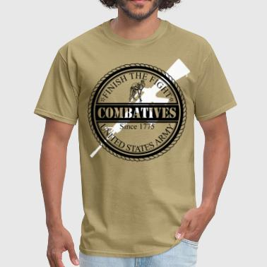 Army Combatives MACP Finish The Fight Design - Men's T-Shirt
