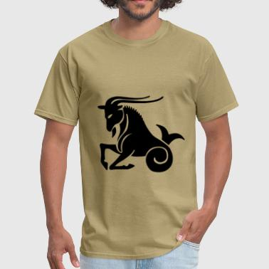 Capricorn Zodiac Sign - Men's T-Shirt