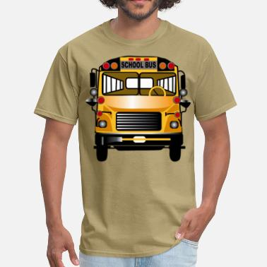 School Bus Driver School Bus - Men's T-Shirt