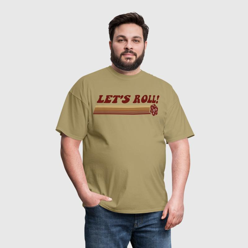Let's Roll Roleplaying Game Dice - Men's T-Shirt