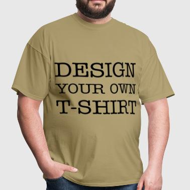 Design Your Own T-shirt - Men's T-Shirt