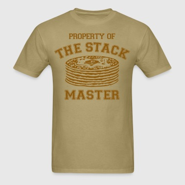 Property Of Stack Master - Men's T-Shirt