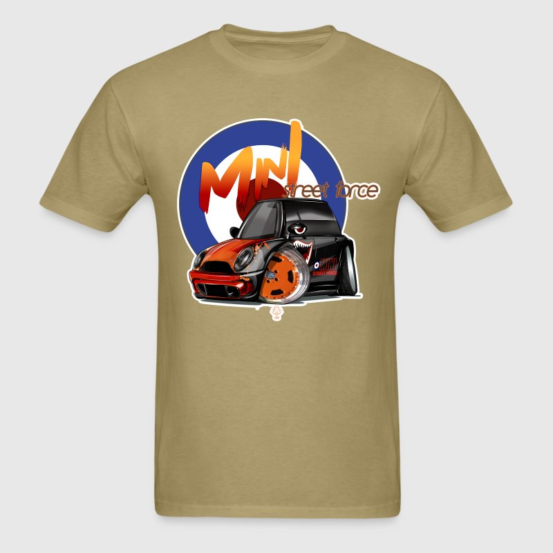MiniCooperStreetForce - Men's T-Shirt