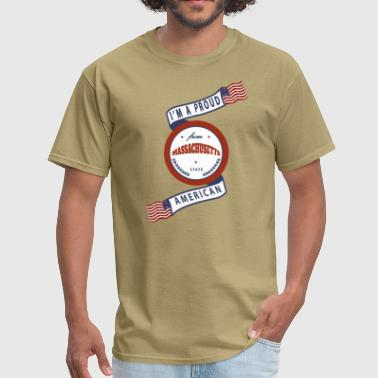 Massachusetts - Men's T-Shirt