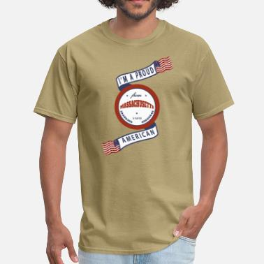 Massachusetts Pride Massachusetts - Men's T-Shirt