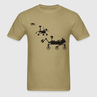 Mars Rovers - Men's T-Shirt
