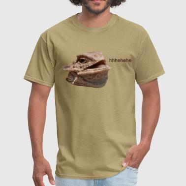 Laughing Iguana HeHe Lizard - Men's T-Shirt