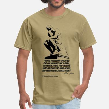 Thinkers The Thinker Series 1 - Men's T-Shirt