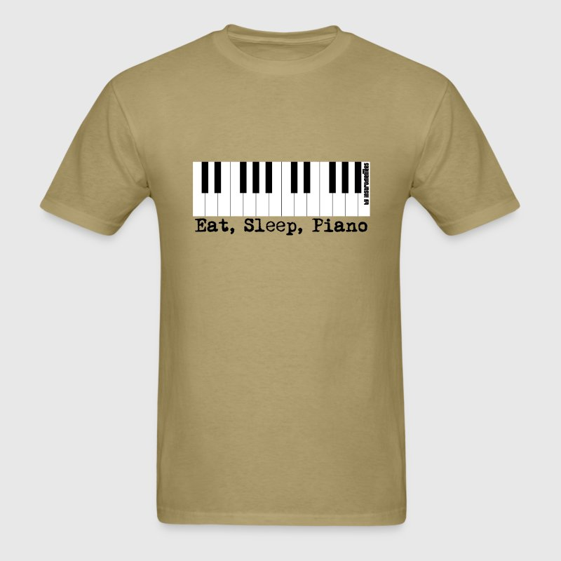 eat sleep piano - Men's T-Shirt