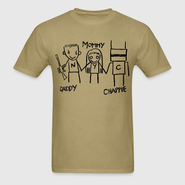 Daddy - Mommy - Chappie - Men's T-Shirt