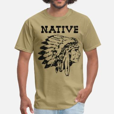 Native American native american indian chief - Men's T-Shirt