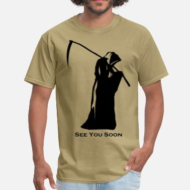 Reaper SEE YOU SOON - Men's T-Shirt