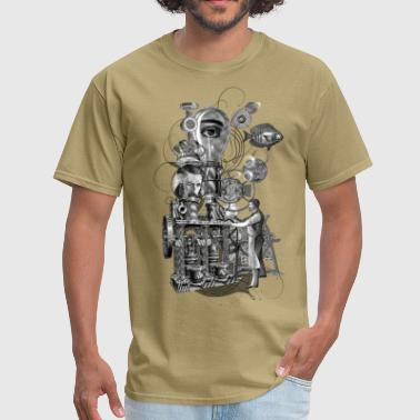 Surreal machine - Men's T-Shirt