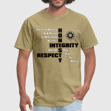 Honesty Integrity Respect Men's T-Shirt - Men's T-Shirt