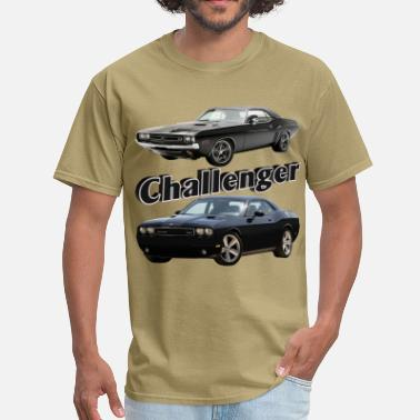Challenger Old and New - Men's T-Shirt