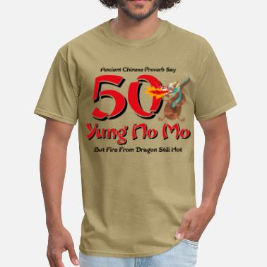 50th Birthday Yung No More 50th Birthday - Men's T-Shirt